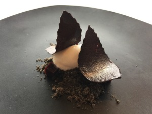 Sheeps milk and black olive