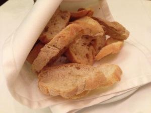 crunchy table bread