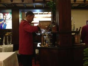 special coffee preparation