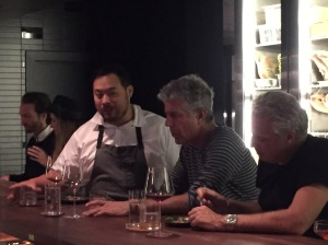 one more of David Chang, Anthony Bourdain and Eric Ripert