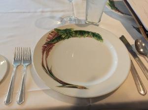 set up plates