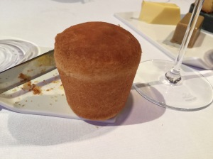 brioche for duck liver course