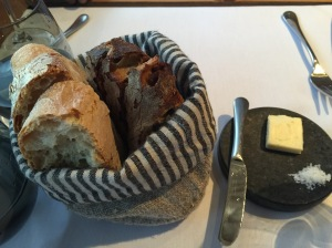 housemade bread and butter service