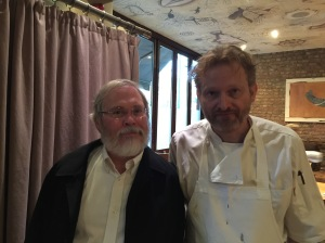 Charles and chef Mikael Jonsson