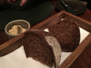 Guinness bread with caramelized butter