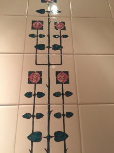 tile in ladies room