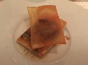 Swordfish meuniere, browned butter, candied lemon and crispy potato
