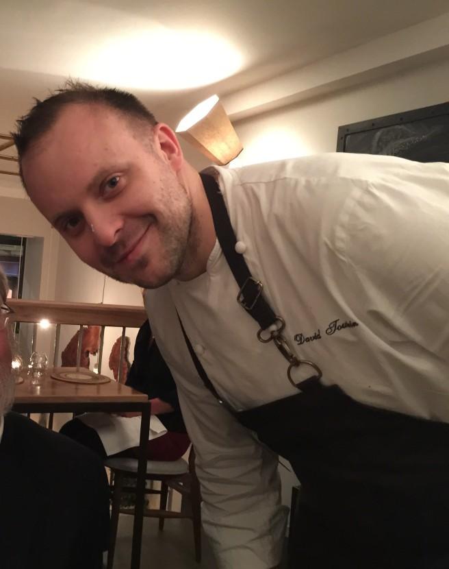 Chef David Toutine