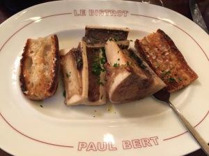 Bone marrow and toast
