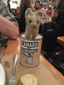 Frankie wanted the can