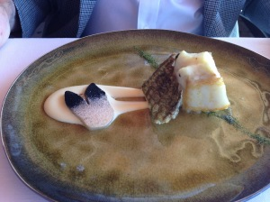 Turbot with its