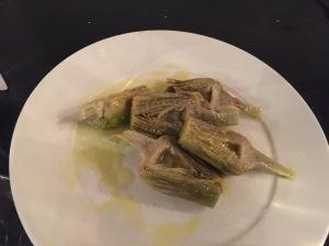 Carciofi (small artichokes)
