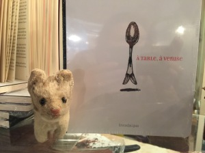 Frnakie and the cookbook