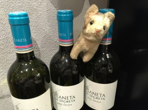 Frankie explored the wines