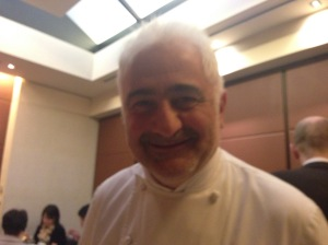 Chef and owner Guy Savoy