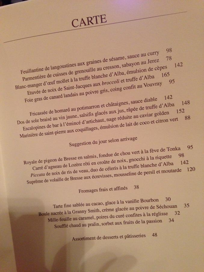 Restaurant L'ambroisie, Paris, 12/7/13 | Dining With Frankie