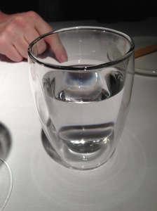 Insulatd water glass
