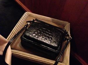 Nice size purse stool
