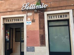 Exterior of Settimio al Pellegrino