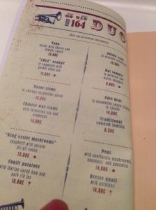 menu mains