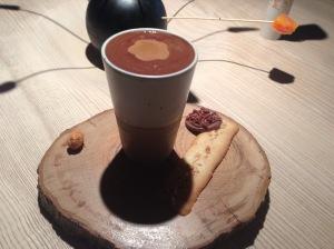 Chocolate, hazelnut and coffee