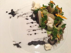 Sunflower, sunchoke, chickweed, charcoal oil, horseradish