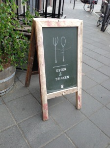 Eat and Drink sign invites you in
