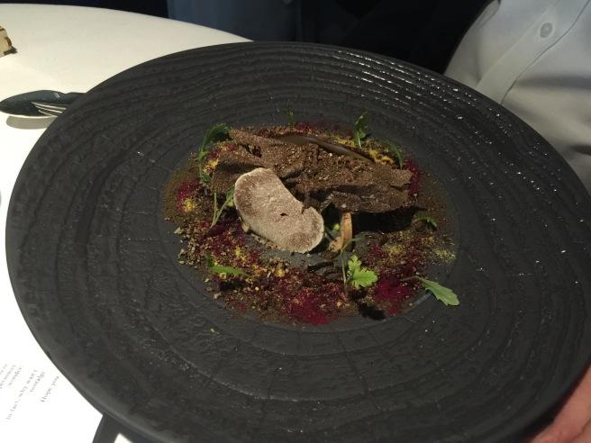 Truffle, beet root, lavage, mushroom