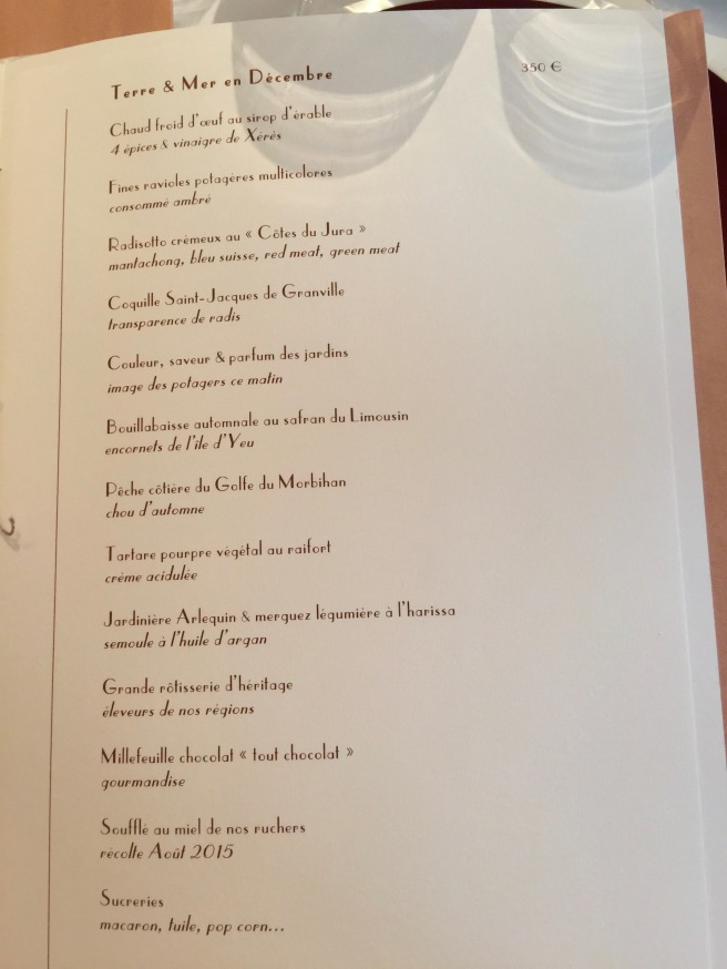 another tasting menu