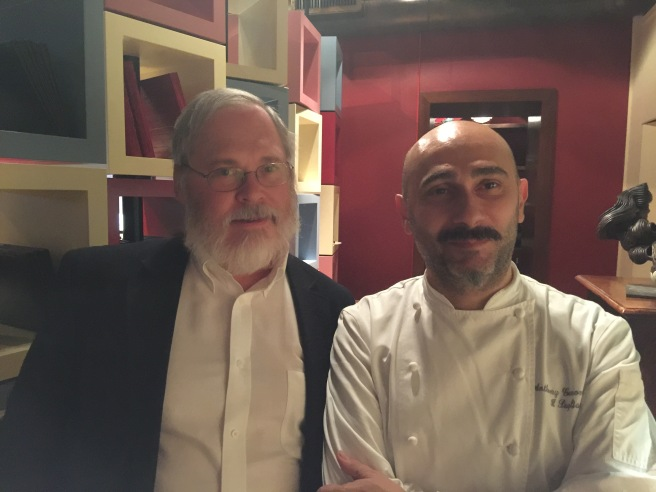 Chef Anthony Genovese with Charles