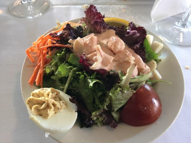 New Orleans shrimp salad (half)