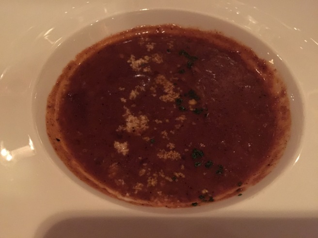 Not-so-traditional turtle soup