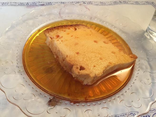 Lemon and ginger pudding