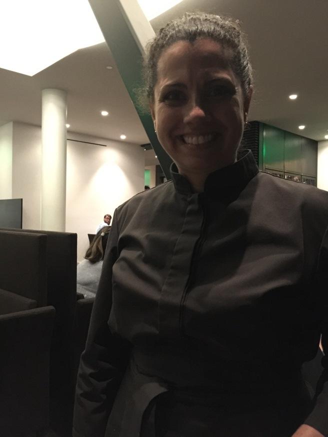 Lisa, our wonderful waitress
