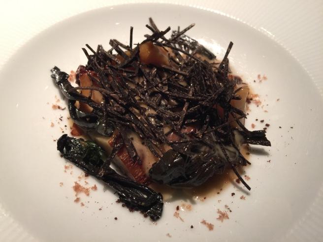 mushrooms, toasted levain mousseline