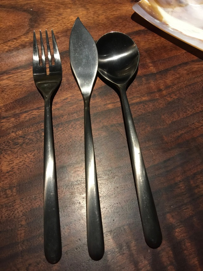 interesting flatware