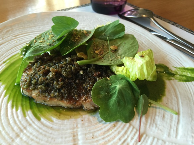 Loin - salad - gnocchi