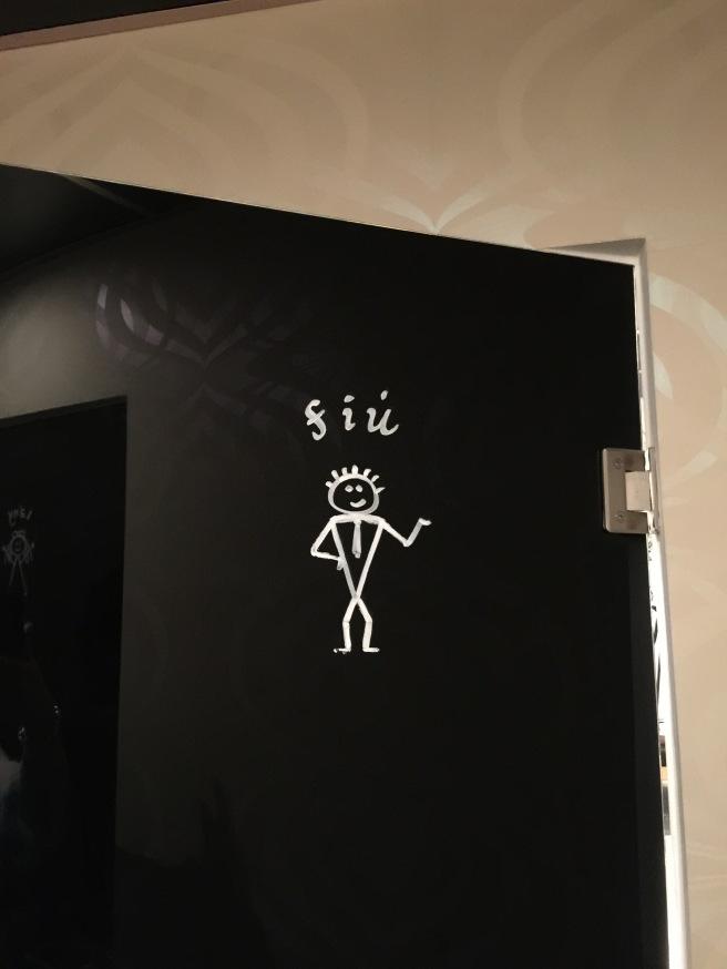 boy's bathroom logo