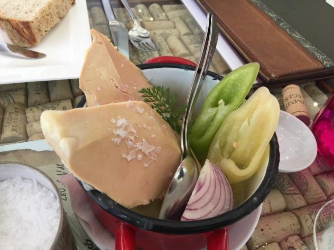 goose liver foie gras
