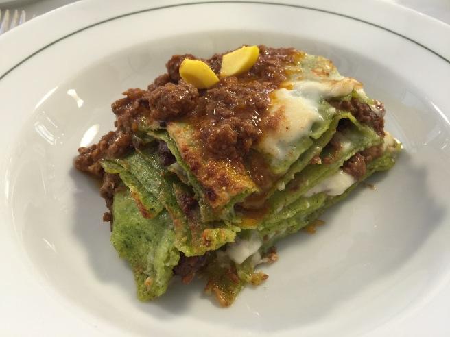 Lasagne verdi al