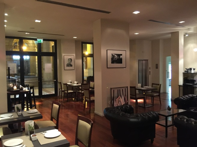 hotel restaurant and bar