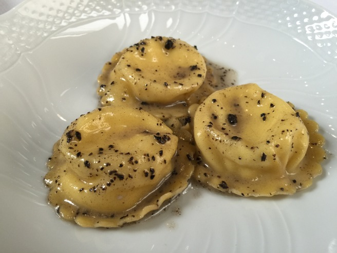 Bauletti: Roman's Sheep Milk Ricotta & Black Truffle Butter