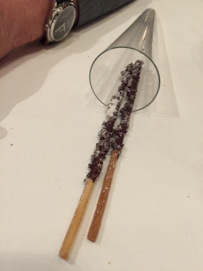 chocolate hazelnut sticks
