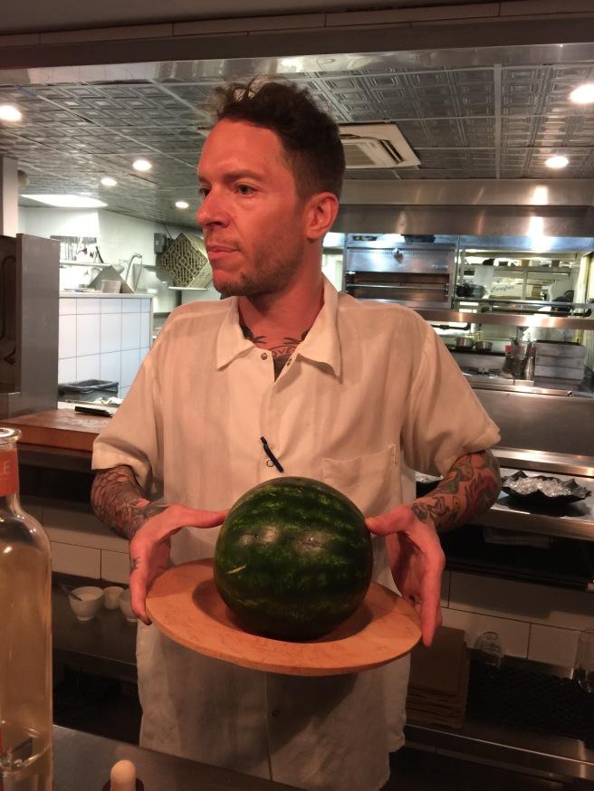 Watermelon for last course