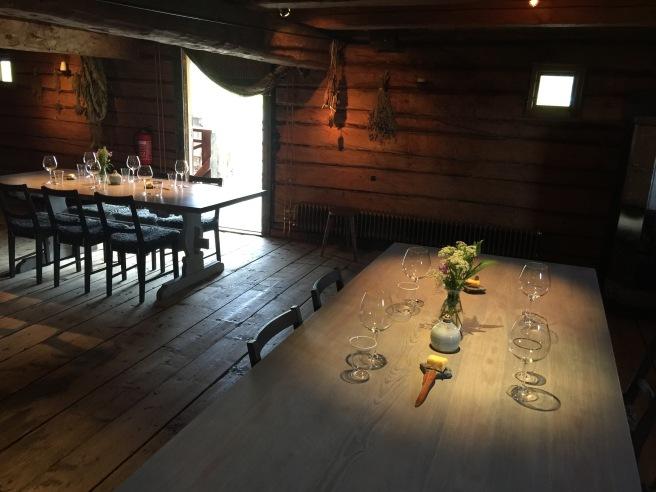 2nd floor dining area