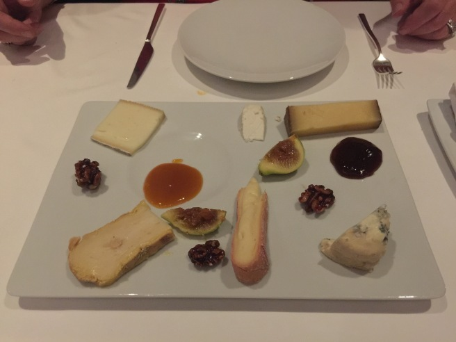 artisanal cheese with seasonal accompaniments