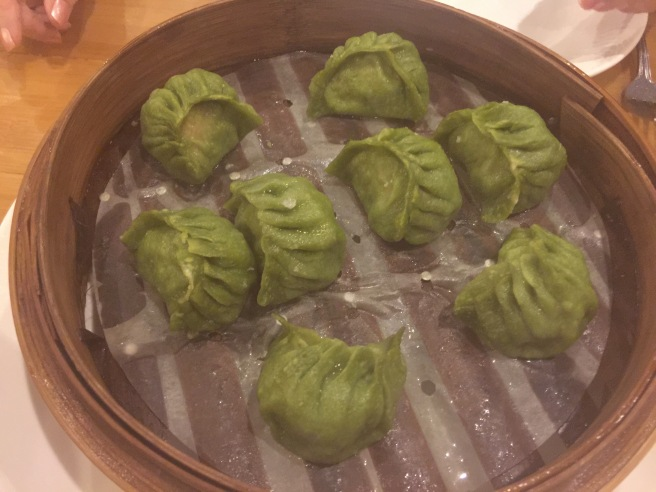pork, shrimp steamed dumplings