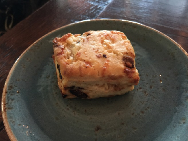 fig and gouda scone