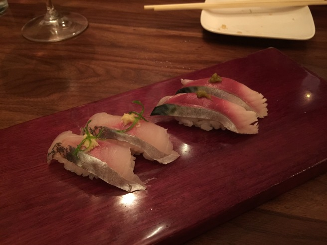 Aji (horse mackerel) and Masaba (Japanese mackerel)