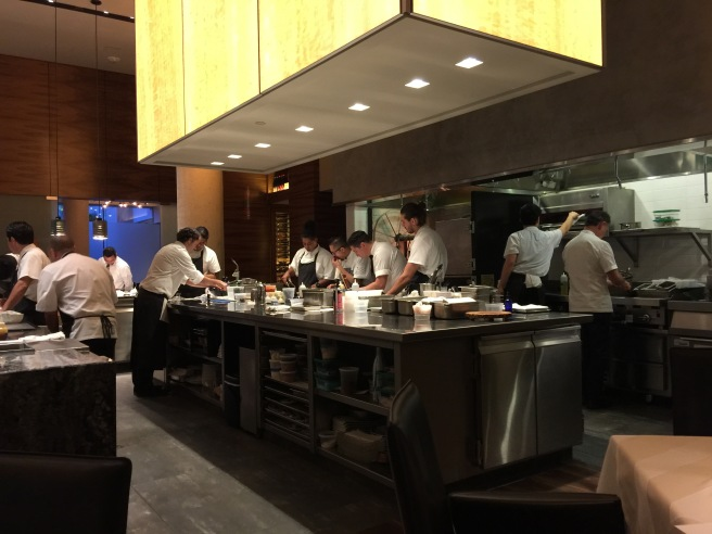 lots of cooks in this kitchen, including Pyles